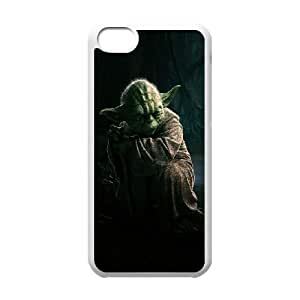 iPhone 5c Cell Phone Case White Star Wars Yoda UI8293821