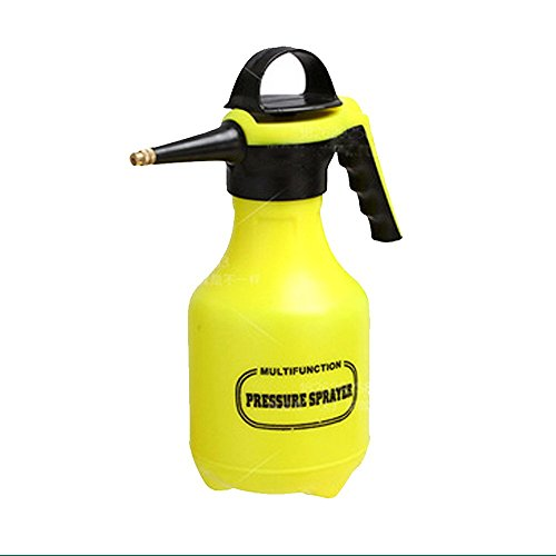 Yeefant 1 Pcs 2L Pressure Type Thickening Pneumatic Watering Can Head Irrigation Pot Flower Sprayer WITH Large Capacity Home Gardening Tool,0.98x0.53 Ft ()