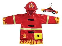 Fireman Rain Coat (Size 2T)