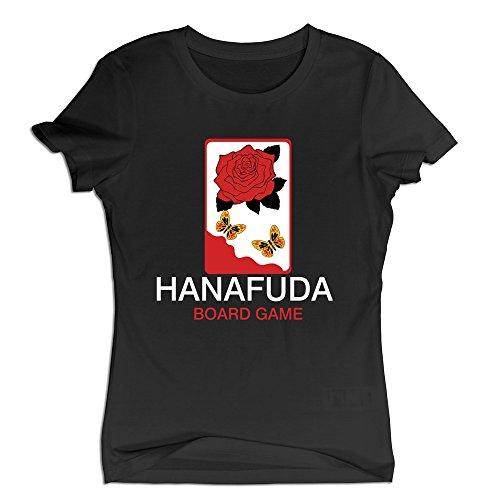 Price comparison product image Women's Hanafuda Board Game Tee Shirt Colorsize