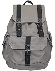 Yukisky 5105 Specially High Density Thick Canvas Backpack Rucksack