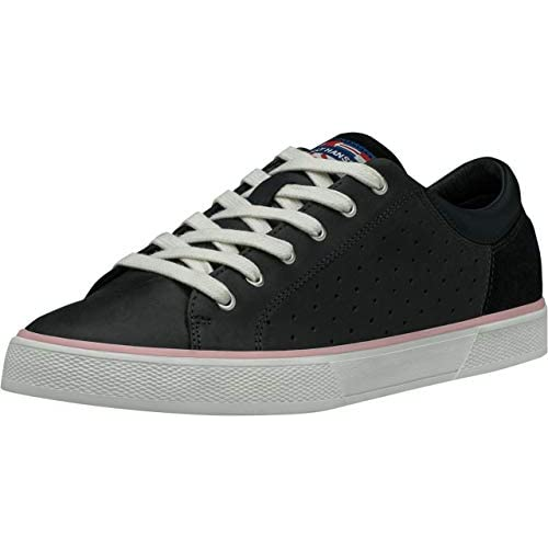 chollos oferta descuentos barato Helly Hansen W Copenhagen Leather Zapatillas para Mujer Azul Navy Powder Pink Off White 597 36 EU