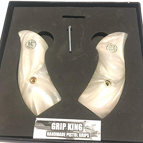 Used, J FRAME GRIPS FITS SMITH & WESSON ROUND BUTT SILVER for sale  Delivered anywhere in USA