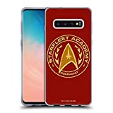 Official Star Trek Command Starfleet Academy Logos Soft Gel Case Compatible for Samsung Galaxy S10
