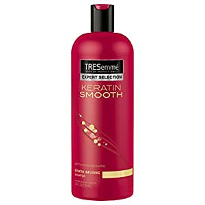 TRESemme Expert Selection Shampoo, Keratin Smooth 25 oz (Pack of 2)