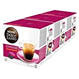 Nescafe Dolce Gusto Espresso Decaf - Pack of 3, Total 48 Capsules