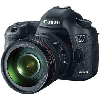 Canon EOS 5D Mark III 24 - 105 Kit Digital SLR (DSLR) Camera