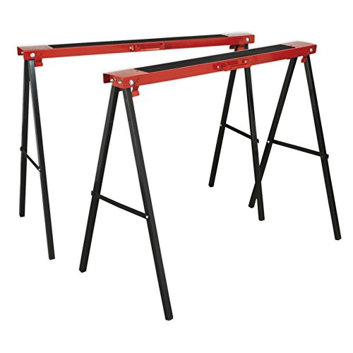 Sealey FDT2 Fold Down Trestles Pack of 2