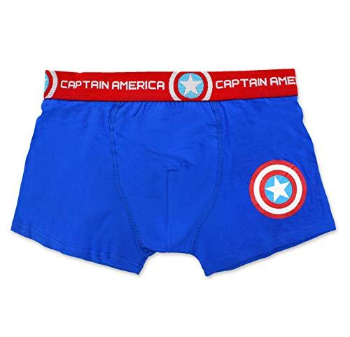DC Comics Superman, Batman, Captain America Boxers Briefs Men's Boxer Shorts (Captain America, XX-L / ()