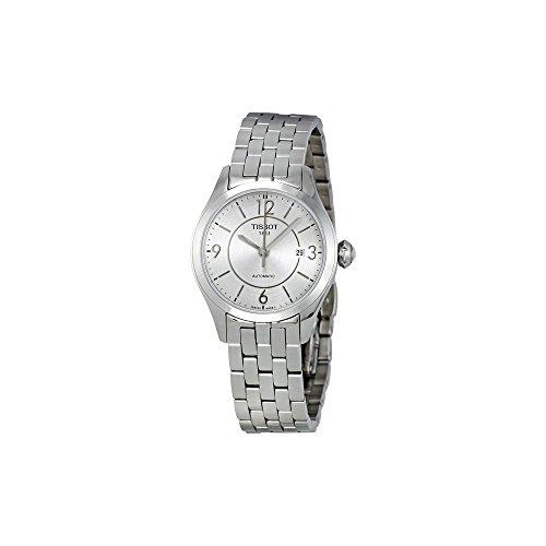 Tissot Women's T038.007.11.037.00 Silver Dial T One Watch