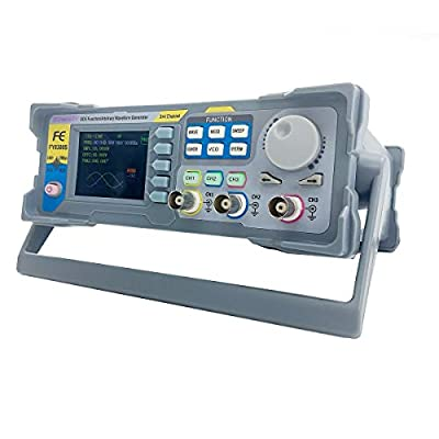"""SUDEG DDS Signal Generator Frequency Meter FY8300-60M High Precision Three-Channel Function with 2.4"""" TFT Upgraded 60MHz Arbitrary Waveform"""