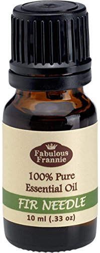 FIR NEEDLE 100% Pure, Undiluted Essential Oil Therapeutic Grade - 10 ml. Great for Aromatherapy! (Fir Needle Essential Oil Blends Well With)