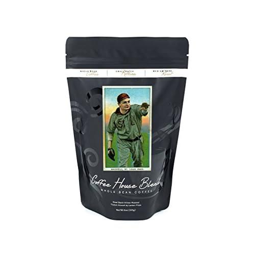 St. Louis Browns - Rube Waddell - Baseball Card (8oz Whole Bean Small Batch Artisan Coffee - Bold & Strong Medium Dark Roast w/ Artwork)