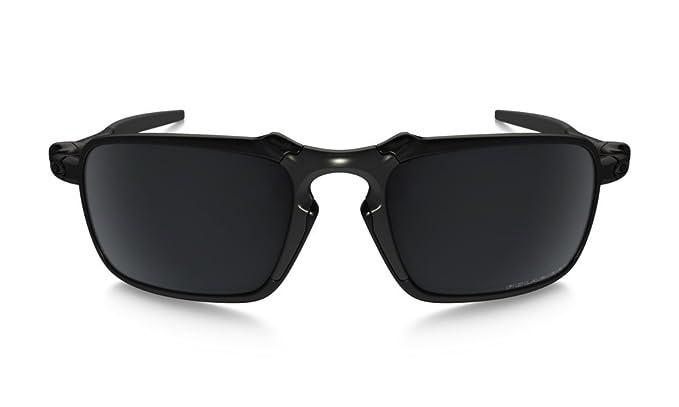 3713ca0ab2 Amazon.com  Oakley Men s (a) Badman Polarized Iridium Rectangular ...