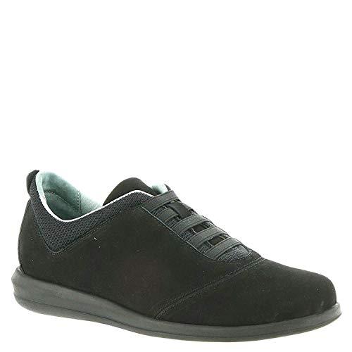 David Tate Womens Dynamic Low Top Slip On Fashion Sneakers, Black, Size 8.5 from David Tate