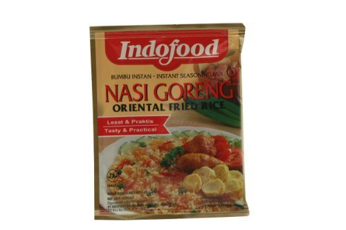 - Indofood - Instant Seasoning MIX for - Nasi Goreng - Oriental Fried Rice - 6 x 1.7 Oz. / 50 G - Product of Indonesia