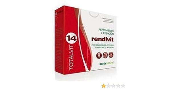 Totalvit 14 Rendivit 28 comprimidos de Soria Natural: Amazon.es: Salud y cuidado personal