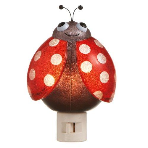 MIDWEST-CBK Lady Bug Night Light (Lights Ladybug)