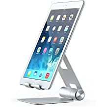 Satechi R1 Aluminum Multi-Angle Foldable Tablet Stand for iPad, iPad Pro, iPhone X, 8 Plus, 8, Samsung S8, MacBook 2015/2016, Microsoft Surface, Nintendo Switch and more (Silver)
