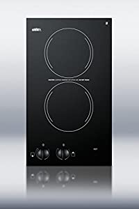 Summit CR2110 12″ Electric Cooktop – This is an excellent cooktop. It fit and installed perfectly for my