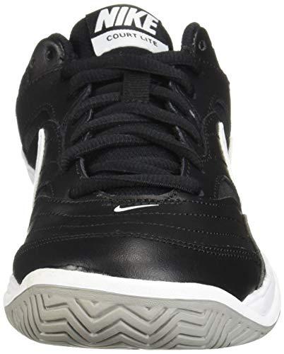 NIKE Men's Court Lite Athletic Shoe, Black/White/Medium Grey, 8.5 Regular US by Nike (Image #4)