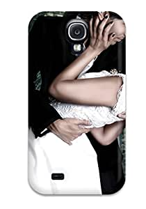 High Quality Shock Absorbing Case For Galaxy S4-wedding Couple Hd