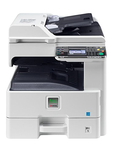 Kyocera 1102MX2US0 ECOSYS FS-6525MFP Black & white Multifunctional Printer, 4.3'' Touch Screen Display, Warm Up Time 20 seconds or less (Power On), Print Resolution 600 x 600 dpi, Fast 1200 Mode (1800 x 600), Up To 25 Pages Per Minute by Kyocera (Image #1)