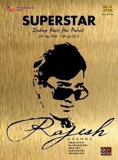 Superstar Rajesh Khanna (2-CD Set / Greatest Hits Of Rajesh Khanna) by Various