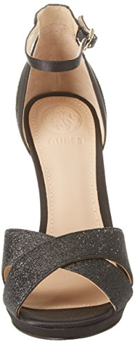 Mujer Negro Plataforma para Black con Footwear Dress Zapatos Sandal Guess Black 4w0Rq6c