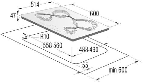 Gorenje IT641KR - Placa vitrocerámica con temporizador y ...