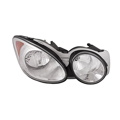 - HEADLIGHTSDEPOT Compatible with Buick LaCrosse Headlight OE Style Replacement Headlamp Right Passenger Side