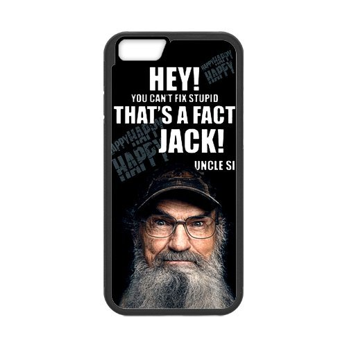 """Fayruz - iPhone 6 Rubber Cases, Duck Dynasty Hard Phone Cover for iPhone 6 4.7"""" F-i5G480"""