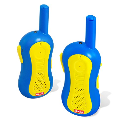 Walkie Talkies for Kids | 1 Mile Range | 3 Channels | Durable, Fun and Easy To (Presents For 5 Year Old Boy)