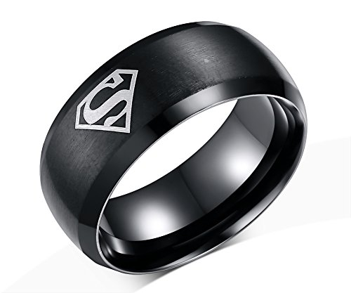 DIB Fashion Jewelry Stainless Steel Men's One Superman Mark Triangle