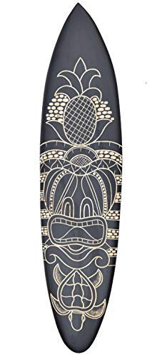 Interlifestyle Tiki Tabla de Surf 100cm con Tortuga Motivo Decoración Tabla de Surf Aus Madera Dura: Amazon.es: Hogar