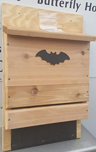 Bat House - Single Chamber by Bird Houses by Mark