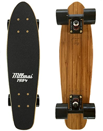 LMAI 22'' Bamboo Cruiser Maple Wood Skateboard (Skateboard 22')