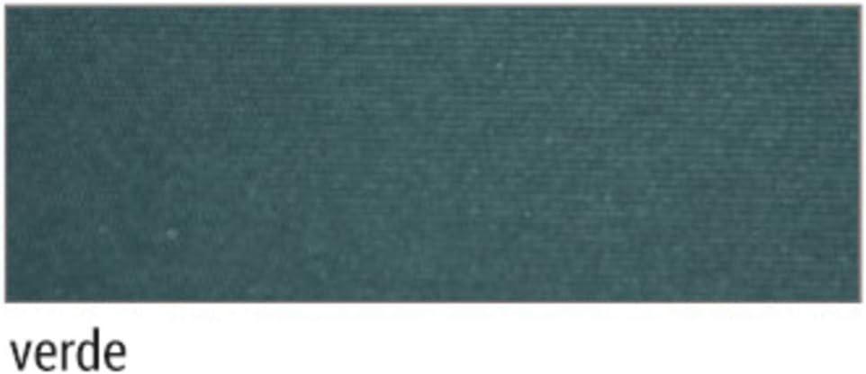 larghezza 3 m e sporgenza 2 m VERDELOOK Tenda da Sole Itaca avvolgibile ad inclinazione fissa verde