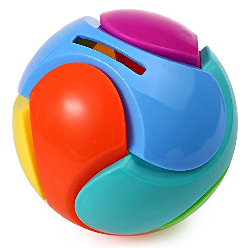 Money Bank Money Saving Box Colourful Puzzle Piggy Bank Ball Toy Gift For Kids