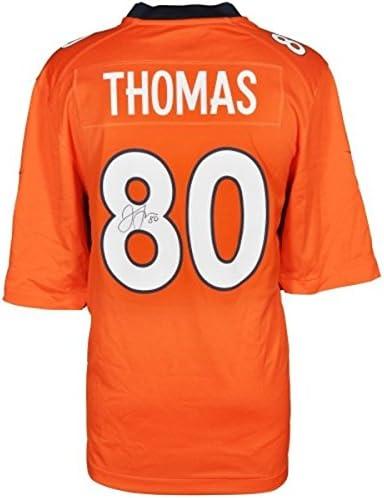 Julius Thomas Autographed Nike Replica Jersey (Orange) at Amazon's ...