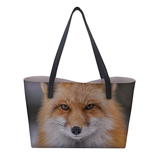 Large Nopersonality Fox Borsa tote donna awqpBZ