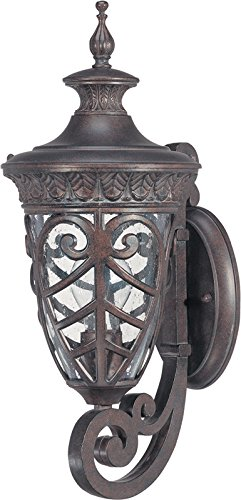 Nuvo Lighting 60/2055 One Light Lantern Outdoor Wall Mount, Bronze/Dark
