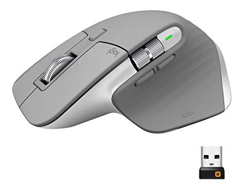 Logitech MX Master 3 Advanced Wireless Mouse - Mid Grey
