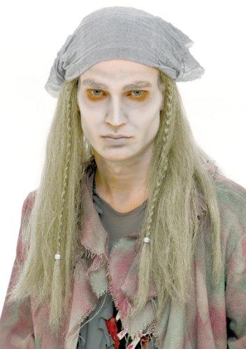 [Paper Magic Pirate Ghost Wig] (Ghost Pirate Costume)