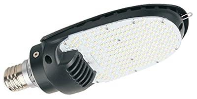 LED Retrofit Shoe Box 115W (400W HID Replacement) 5000K Large E39 Mogul Base High Output Street and Area Lighting, AC 100-277V, 180° Beam Angle (8 Pack)