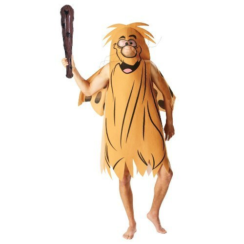 RUBIES CAPTAIN CAVE MEN ADULT FANCY DRESS PARTY HALLOWEEN COSTUME HANNAH BARBARA (Captain Caveman Costume)