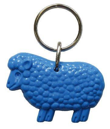 Llavero Oveja, acrílico, 5 cm, azul, ps23: Amazon.es: Hogar