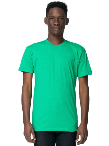 american-apparel-poly-cotton-short-sleeve-crew-neck-heather-kelly-green-large