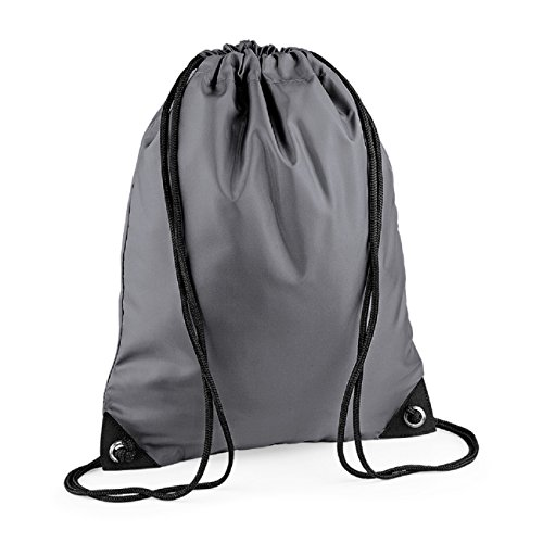 Shoulder Bag Strap Retro Zipped Bagbase Pocket Grey Graphite Unisex Colours P0nxaX