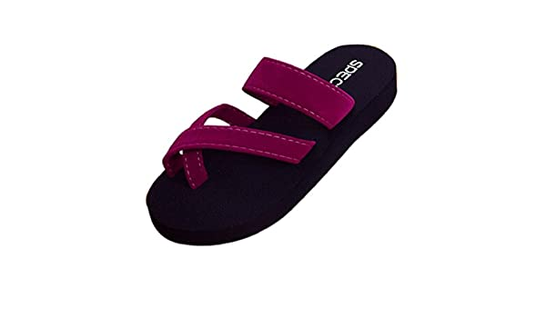 e80d57669ca0b Amazon.com: HGWXX7 Womens Summer Flip Flops Casual Thick Bottom Non ...